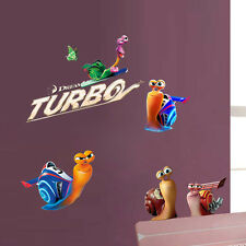 TURBO DREAMWORKS Removable Wall Art Sticker Decal Decoration UK