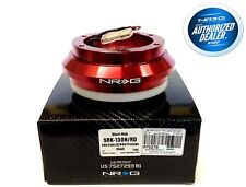 NRG Short Hub Steering Wheel Adaptor Honda EK Civic S2000 Pr​elude CRV CRZ (RED)
