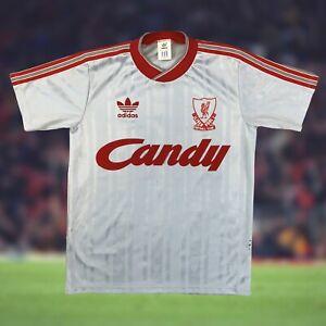 Liverpool 1988/89 Away Soccer Jersey Small Adidas Camiseta Futbol EPL Vintage