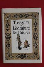 TREASURY OF LITERATURE FOR CHILDREN Golden Press - Winnie the Pooh (HC/DJ, 1983)