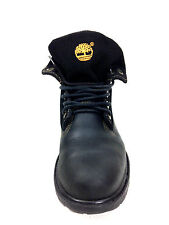 Timberland Boys Roll Top Black Size 4 US.