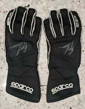 Ryan Newman Race Worn Gloves Autographed With COA
