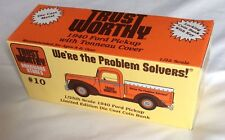 Trustworthy 1940 Ford Pickup Die Cast With Tonneau Cover 1/25 Coin Bank preowned