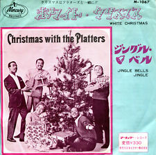 "The Platters 7""  White Christmas  /  Jingle Bells Jingle  (Japan, Philips 1067)"