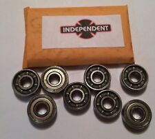 Genuine Independent Skateboard Gp-S Bearings - Set of 8 Skate Rated Bearings