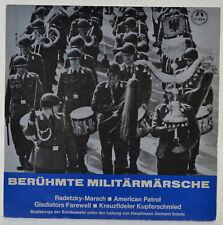 "Berühmte Militämärsche - Scholz - Military - Bundeswehr - American Patrol - 7"""
