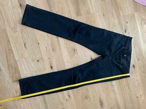 G Star Jeans, schwarz in 36/36, G Star 3301