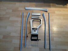 BMW OEM E39 M5 5 Series M Sport Silver Aluminum Interior Trim Set Kit RHD