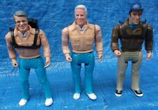1983 Galoob The A-Team Action Figure Lot John Hannibal Smith Howling Mad Murdock