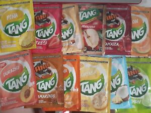 TANG 12 Sample Pack No Sugar Needed Makes 2 Liters Of Drink Mix 15g From Mexico
