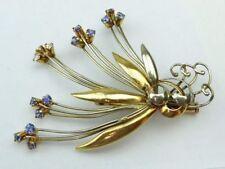 18 Carat Brooch/Pin Vintage Fine Jewellery (1980s)
