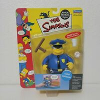 Playmates The Simpsons CHIEF WIGGUM Figure World of Springfield WOS 2000