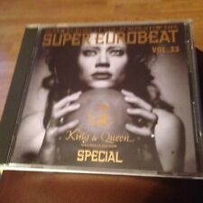 Super Eurobeat Vol. 33 - Non-Stop Mix- King & Queen Special cd with OBI strip