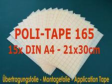 PlotterMeisterei  Übertragungsfolie LT 30cm x 3m mit Abdeckpapier und Raster