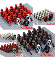 23 Pcs Minifigures lego MOC Star Wars ARF Elite Clone Trooper Wolfpack & weapons