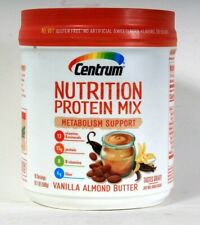 1 Ct Centrum 19.7 Oz Nutrition 15g Protein Mix Metabolism Vanilla Almond Butter