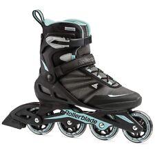 Rollerblade Zetrablade Womens Inline Skate, Size 7 Black/Blue