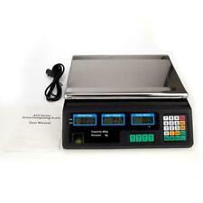 Balanza Postal Digital de 88 Lb 40 Kg Conteo Electrónico de Peso Ahorra Energía