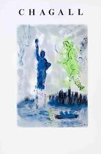 Statue of Liberty by Marc Chagall Art Print 23x35