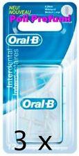3 x Oral B Interdentale Set 12 Scovolini Ricambio Cilindrico Medio-Grande 4,0 mm