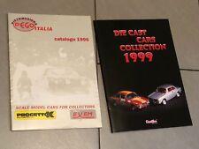 1:24 1:25 1:43 1:18 DETAILS CAR  PROGETTO K COPPIA Catalogo Brochure Auto