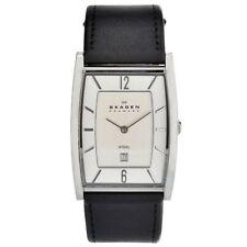Skagen Stainless Steel Case Adult Unisex Wristwatches