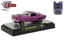 M2 MACHINES HOBBY EXCLUSIVE PURPLE 1966 FORD MUSTANG 427 GASSER