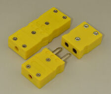 Standard K-Type Connector Set Pair Male & Female f. thermocouple extension wire
