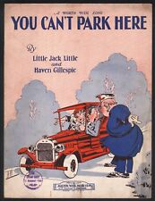 You Can't Park Here 1929