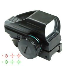 Tactical Red Green Dot Holographic Sight 4 Reticle Reflex for Outdoor DI