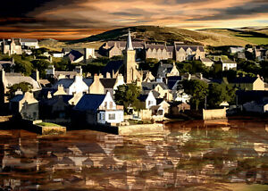 STROMNESS ORKNEY Special Edition Limited Art Print by Sarah Jane Holt