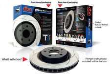 DBA T2 Rear Slotted Rotors Set to Holden Commodore VT VU VX VY VZ 286mm DBA041S