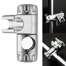25mm Adjustable ABS Chrome Shower Rail Head Slider Holder Bracket Slide Clamp