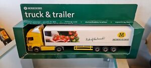 MORRISONS MERCEDES-BENZ DELIVERY TRUCK POSSIBLE 1:50 SCALE