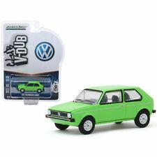 1975 VOLKSWAGEN RABBIT BRIGHT GREEN 1/64 DIECAST MODEL CAR BY GREENLIGHT 29980 D