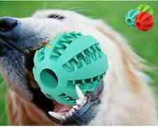 Dog Toys Rubber Balls Safe Pet Toys Ball Chew Toys Tooth Cleaning Balls Food