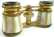 Opernglas Antik 50er Art Perlmuttbesatz Opera Fernglas Sammler Alt Antik