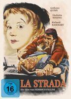 LA STRADA-DAS LIED DER STRASSE- - FELLINI,FEDERICO  2 BLU-RAY NEU