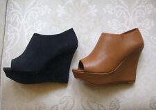 Atmosphere Wedge Women's Faux Suede Shoes