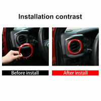 Dashboard Central Control Air Outlet Ring Sports Red For Toyota Tacoma 2016-2020