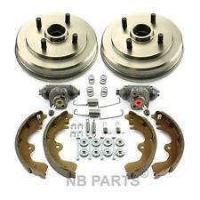2x Tambor del freno + Zapatas de + cilindro rueda trasero Toyota Paseo EL54