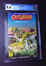 Basement Comics Cavewoman #1 12/93 CGC 9.4 NM Budd Root 1st App Meriem Cooper