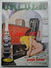 JACULA N° 232 pompe funebri EDIPERIODICI 1978 fumetto erotico ERREGI