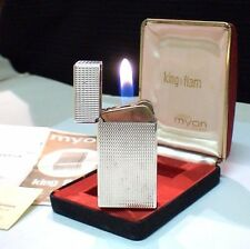 BRIQUET Ancien @ MYON King Flam & écrin Doc @ Lighter Feuerzeug Accendino
