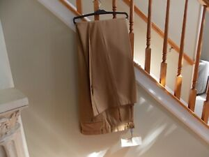 Men's NWT Brown Leonardo Valenti Dress Pants Big & Tall Size 46