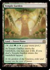 TEMPLE GARDEN Return to Ravnica MTG Land—Forest Plains RARE