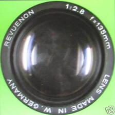 Objectif lot de 2 : lens  revuenon 1:2.8 f = 135mm, revuenon 1:3,5  f = 28 mm