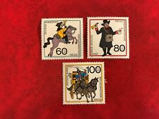 GERMANY BRD FRD MNH 1989 MAIL HISTORY COURIER COACH MESSENGER