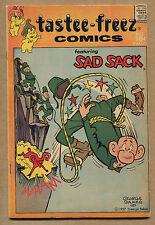Tastee-Freez Comics #2 - Feat. Sad Sack - 1957 (Grade 4.5) WH