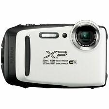 Fujifilm XP130 Action Camera White Fuji Wifi Waterproof Dustproof Shockproof